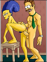 Simpsons Adult Art